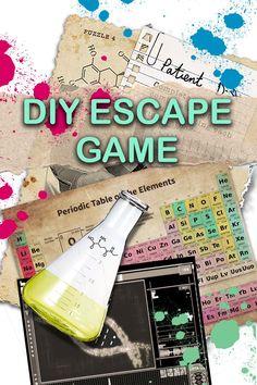 Room Escape Games, Escape Room Diy, Escape Room For Kids, Escape Room Puzzles, Video Game Cakes, Video Game Party, Party Games, Treasure Hunt Games, Holiday Program