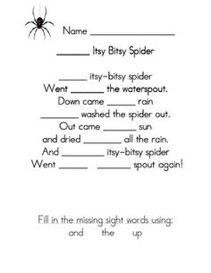 words worksheets in  words context sight Sight