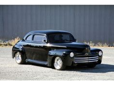 Ford : Other 1946 Ford Coupe Chopped Top Custom Hot Rod - http://www.legendaryfind.com/carsforsale/ford-other-1946-ford-coupe-chopped-top-custom-hot-rod/