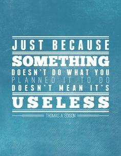 Yes, Thomas Edison