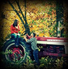 Being proposed on a Case International Harvester