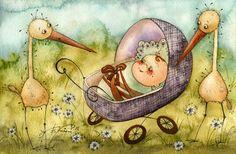 kirdiy: Поздравляю всех, кто родился в январе | Illustration by Viktoria Kirdiy