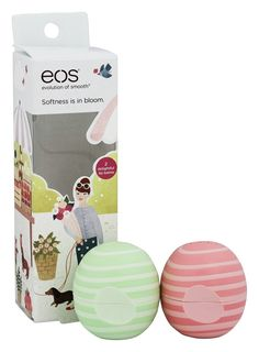 EOS Spring 2017 Limited Edition Lip Balm, Visibly Soft Cucumber Melon and Coconut Milk Eos Lip Balm, Lip Balms, Lip Balm Brands, Eos Products, Beauty Products, Beauty Giveaway, Baby Lips, Perfume Collection, Bath And Body Works