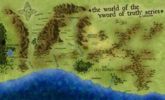 The World Map of The Sword of Truth Series