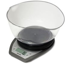Buy Salter Aquatronic Kitchen Scale and Bowl - Silver at Argos.co.uk, visit Argos.co.uk to shop online for Kitchen scales, Kitchenware, Cooking, dining and kitchen equipment, Home and garden