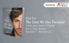 Diverse Reader: Blog Tour: The Case No One Foretold  by L.G. Fabbo...
