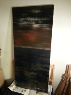 """Saatchi Art Artist Jukka Uusitalo; Painting, """"Calm Before the Storm"""" #art"""