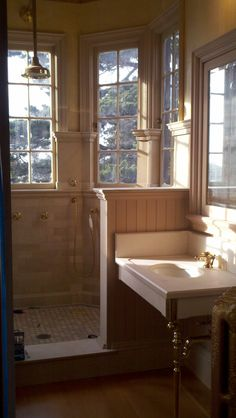 How about a little traditional tranquility, in this Heritage Council Award winning Bathroom in Berkeley