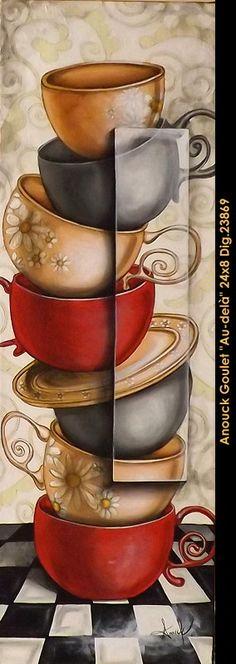 original painting by: Anouck Goulet available at Balcon d'art St-Lambert QC.