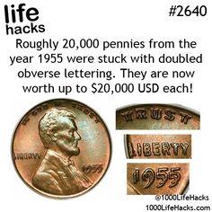 1955 Pennies