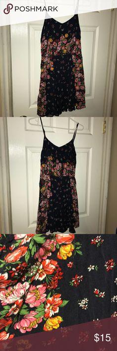 Dress Navy Floral Dress Aeropostale Dresses