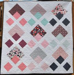 Note - If you are looking for the Layer Cake Checkmate Quilt Post, you will find it here ;) A little while back I was asked by the wonderfully talented Carina Gardner if I wanted to play with some of