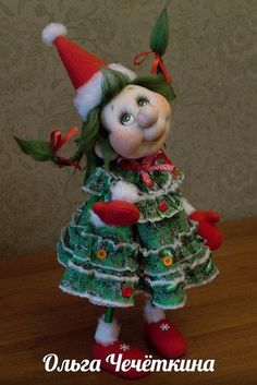 Photo Christmas Sewing, Christmas Elf, Christmas Crafts, Elf Decorations, Christmas Decorations, Yarn Crafts, Diy And Crafts, Asian Quilts, Sewing Toys