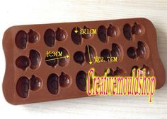 DIY Candle Candy Chocolate Cake Fimo Resin by Creativemouldshop