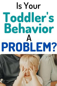 Toddler Behavior: Stop ignoring these behaviors and make a plan to deal with them today #toddler #baby #discipline Parenting Toddlers, Parenting Hacks, List Of Behaviors, How To Know, How To Find Out, Toddler Behavior Problems, Love And Logic, Toddler Age, Toddler Discipline