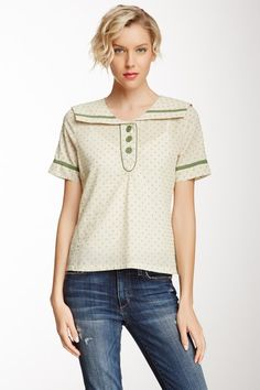 Knitted Dove Hit The Spot Polka Dot Top $27.00 $85.00 68% off