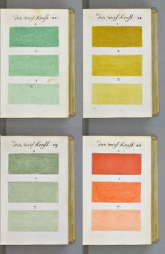 #thinkcolorfully 271 years before pantone
