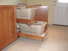 SO looking for these for my laundry room roll out shelves for baskets/sorters