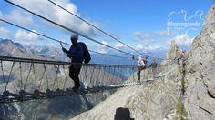 Passo Pordoi via ferrata in Northern Italy's Dolomites