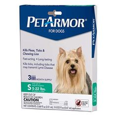 PetArmor for Dogs, Flea and Tick Treatment for Small Dogs Pounds), Includes 3 Month Supply of Topical Flea Treatments - Pets our family Dog Flea Treatment, Brown Dog Tick, Killing Fleas, Deer Ticks, Ticks Remedies, American Dog