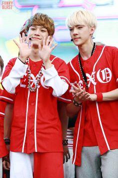 chen & sehun :] #exo