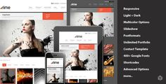 Rime - Responsive Portfolio for WordPress . Rime has features such as High Resolution: Yes, Widget Ready: Yes, Compatible Browsers: IE8, IE9, IE10, IE11, Firefox, Safari, Opera, Chrome, Compatible With: WPML, Software Version: WordPress 4.5, WordPress 4.4.2, WordPress 4.4.1, WordPress 4.4, WordPress 4.3.1, WordPress 4.3, WordPress 4.2, WordPress 4.1, WordPress 4.0, WordPress 3.9, WordPress 3.8, Columns: 2