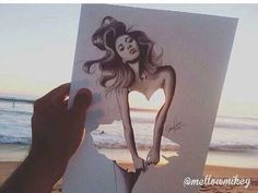 Cut out photography So Creative, Sketch Painting, Amazing, Disney Characters, Fictional Characters, Cartoon, Drawings, Artist, Photography