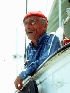 Jacques Cousteau - Through his books, documentaries, unending research about the world's oceans and inhabitants - and his deep belief we should be stewards of the oceans - he did more than anyone else to further our knowledge of this vast liquid portion of our globe. Inventor of the Aqua-Lung in the 1940s, it has evolved into the SCUBA equipment used today by divers worldwide, including me. His son and grandson have followed in his work and continue to educate more generations.