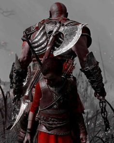 Kratos and Atreus the best of the year😍❤🏆 - - Photo Mode📷 - - - God of war God Of War Series, Kratos God Of War, Tao, Ragnar Lothbrok, Gaming Wallpapers, Mortal Kombat, Mythical Creatures, Game Art, Iron Man