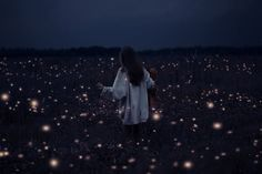 Stars fall at my feet, keep me grounded as I reach. Higher than I see, is there something there for me?