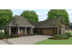 Floor Plans AFLFPW06276   1 Story French Country Home With 4 Bedrooms, 3  Bathrooms And 3,271 Total Square Feet   Pinterest   Square Feeu2026