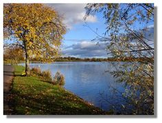 Autumn Sun at Hogganfield Loch