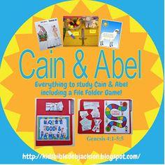Bible Fun For Kids: Genesis Series: Cain & Abel Bible Lessons For Kids, Bible For Kids, Toddler Bible, Sunday School Lessons, Sunday School Crafts, School Fun, Bible Story Crafts, Bible Stories, Old Testament Bible