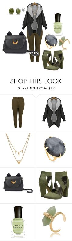 """""""Natural Casual Plussize outfiT"""" by migalowa on Polyvore featuring Edge of Ember, Ippolita, Michael Antonio, Deborah Lippmann, BERRICLE, women's clothing, women's fashion, women, female and woman"""
