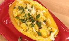 Spaghetti Squash with Brown Butter and Sage