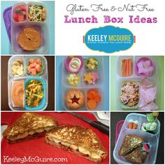 Keeley McGuire: Lunch Made Easy: {Gluten & Nut Free} School Lunch Box Ideas #EasyLunchboxes Lunch Snacks, Healthy Snacks, Healthy Recipes, Free Recipes, Easy Lunch Boxes, Lunch Ideas, Toddler Lunches, Whats For Lunch, Kid Friendly Meals