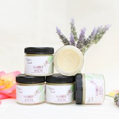 Nipple Balm - for relieving sore, cracked nursing nipples and helping to soften and heal the painful skin. Infused with Calendula and Marshmallow Root which help heal dry, cracked skin and relieve sore nipples.
