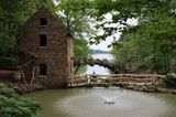 North Little Rock's Old Mill (Pugh's Old Mill) - from the opening credits of Gone With the Wind!  Free to tour