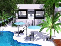 Villa grundriss sims 3  The Sims 3 Modern Architecture Luxury Villa 'MAHINA' | THE GOOD ...