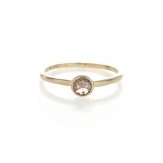 Dear Rae // Cognac Diamond 9ct yellow gold ring