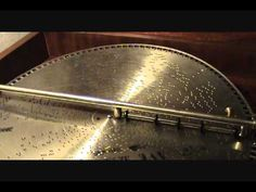 """AVE MARIA"" Played On 1905 MIRA 18 1/2 Inch Concert Grand Console Music Box - starts 23 seconds in"