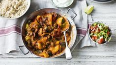 Mexican bean stew        A simple, vegetarian, spiced bean stew makes a quick and filling midweek dinner.With a GI of 52 this meal is high protein, low GI and provides 492 kcal per portion.