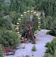 I think it would be the creepiest thing in the world, but I really want to go to Pripyat/Chernobyl.  I find that place fascinating.