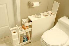 Kreatív tárolás a fürdőszobában - Így rendszerezz, ha pici a helyiség | LED Master