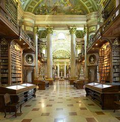 Biblioteca Nacional en Viena, Austria