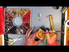 recycled soda can earrings - YouTube