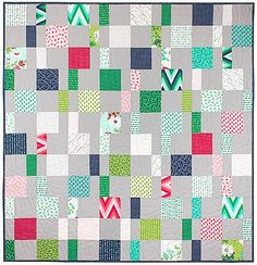 Charm Pack Cherry Free quilt pattern