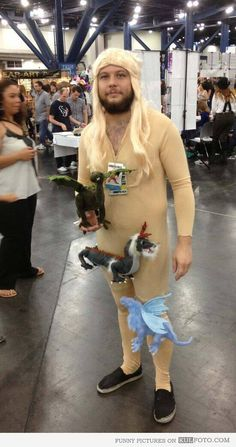 Comic-Con Daenerys The Mother of Dragons - Nailed it! #Game of Thrones