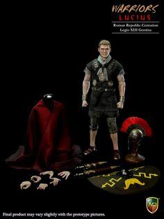 "1/6 scale Collectible figure doll Roman Republic Legion Centurion Lucius 12"" action figure doll Plastic Model Toys"
