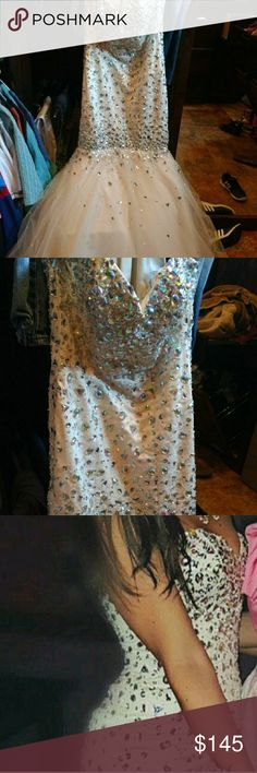 Mori Lee Prom Dress Worn once in great condition, corset back, from pet free and smoke free home Mori Lee Dresses Prom